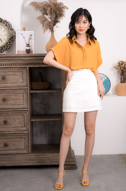 Chân váy công sở - Trắng